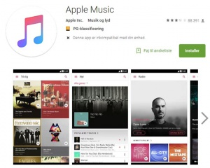 Apple Music for Android er udkommet i version 1.0 - nu med custom equalizer