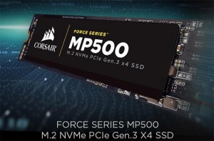 Corsair annoncerer ny SSD-produktlinje: Force Series MP500