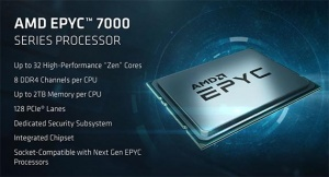 AMD lancerer ny processorfamilie for datacentre: EPYC