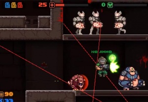 MiniDOOM 2 er ude nu: Spil Doom som retro 2D platformspil