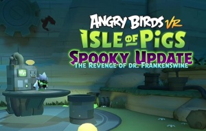 Angry Birds: Isle of Pigs er udkommet til Playstation VR
